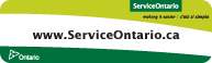 Service Ontario Logo